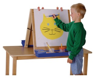 Jonti-Craft® Double Sided Table Top Easel - Image 1 of 1