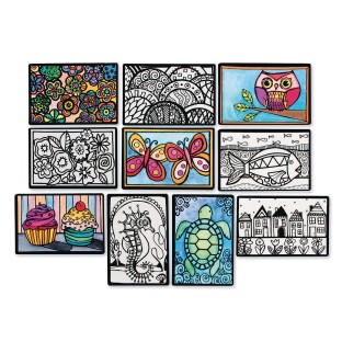 Mini Velvet Art Posters (Pack of 100) - Image 1 of 6