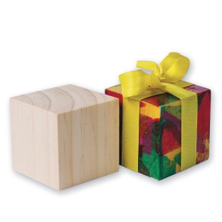 "2"" Wood Craft Cubes (Pack of 24) - Image 1 of 2"
