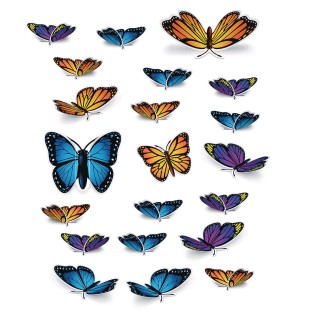 Butterfly Cutouts (Pack of 20) - Image 1 of 1