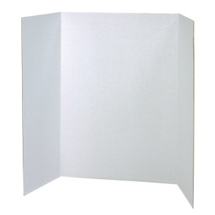 White Double Walled Presentation Board, 48
