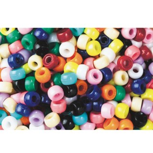 Color Splash!® Mini Pony Bead Assortment - Image 1 of 1