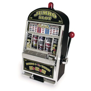 Jumbo Slot Machine Bank - Image 1 of 1