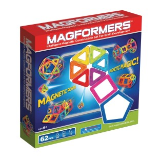 Magformers® 62 Piece Extreme Magnetic Building Set - Image 1 of 4