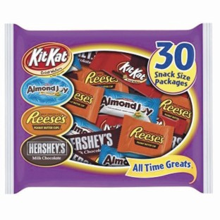 Hershey's® Assorted Snack Size Candy Bars - Image 1 of 1