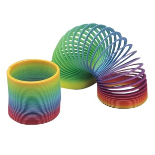 Rainbow Spring Toy (Pack of 12) - Image 1 of 1