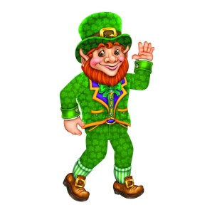 Jointed Leprechaun Decoration - Image 1 of 1