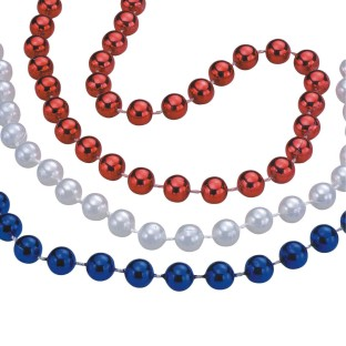 Patriotic Bead Necklaces (Pack of 36) - Image 1 of 1