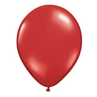 Qualatex® Jewel Tone Balloons, Ruby Red, 11