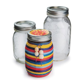 Ball Mason Jars w/ Lid, 32 oz. (Case of 12) - Image 1 of 1