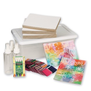 Tissue Paper Painting Easy Pack - Image 1 of 2