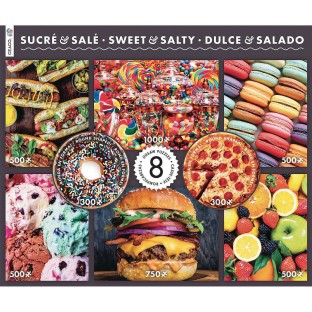 8-In-1 Puzzle Assortment Sweet & Salty - Image 1 of 1