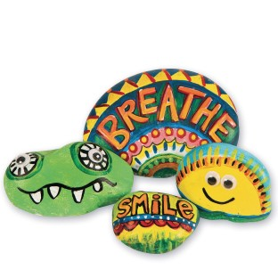 Silly Stones Craft Kit (Pack of 48) - Image 1 of 6