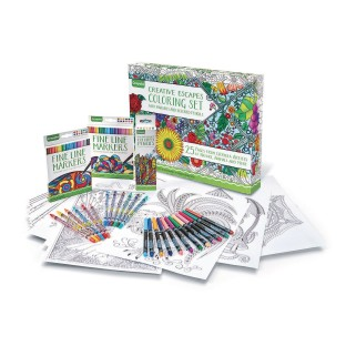 Buy Crayola® Creative Escapes Coloring Set at S&S Worldwide
