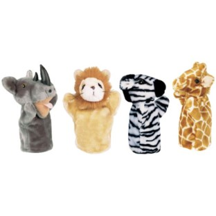 Get Ready Kids Zoo Puppets - Image 1 of 1