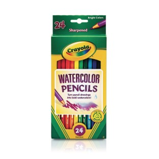 Crayola® Watercolor Pencils (Box of 24) - Image 1 of 2