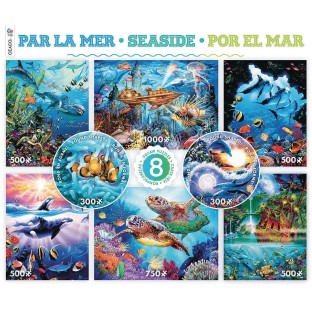 8-In-1 Puzzle Assortment Seaside - Image 1 of 1