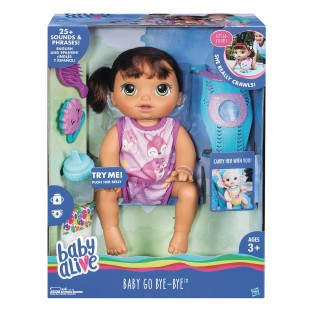 Baby Alive® Baby Go Bye Bye Doll - Image 1 of 4