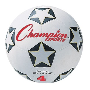 Champion Rubber Soccer Ball, Size 4 - Image 1 of 1