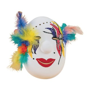Carnival Mask Craft Kit (Pack of 12) - Image 1 of 3