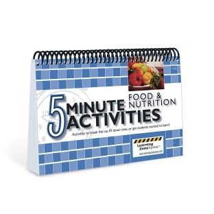 5 Minute Activities: Food & Nutrition - Image 1 of 1