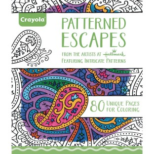 Crayola® Adult Coloring Book: Patterned Escapes - Image 1 of 1