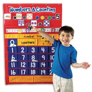 Numbers & Counting Pocket Chart - Image 1 of 1