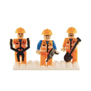 Brictek™ Construction Mini Figures - Image 1 of 1