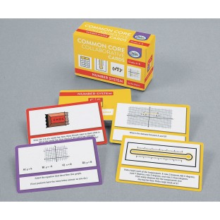 Common Core Collaboration Cards, Numbers System Grades 6-8 - Image 1 of 1
