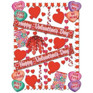 Deluxe Valentine Decorating Kit ( of 1) - Image 1 of 1