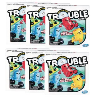 Pop-O-Matic® Trouble® Game Case Pack (Case of 6) - Image 1 of 1