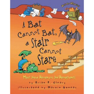 A Bat Cannot Bat, A Stair Cannot Stare: More about Homonyms and Homophones Book - Image 1 of 1