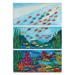 Ocean Triptych Collaborative Craft Kit - Image 1 of 2