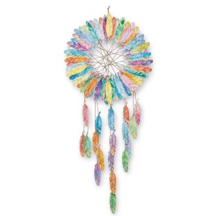 Feather Dreamcatcher Collaborative Craft Kit - Image 1 of 6