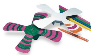 Color n' Throw Boomerang Craft Kit (Pack of 24) - Image 1 of 2
