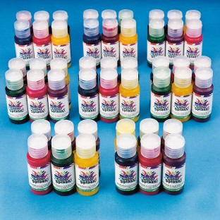 Color Splash!® Assorted Washable Glitter Paint, 1 oz. (Pack of 48) - Image 1 of 1