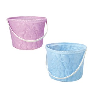 Plastic Easter Baskets (Pack of 12) - Image 1 of 1
