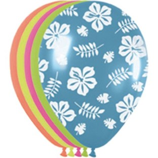 Luau Latex Balloons (Pack of 50) - Image 1 of 1