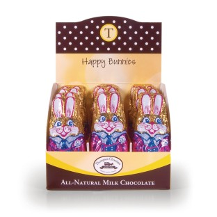 Chocolate Bunnies, 1 oz. (Box of 24) - Image 1 of 2