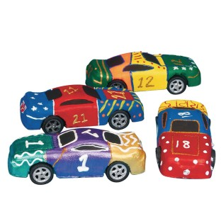 Foam Race Car (Pack of 24) - Image 1 of 1