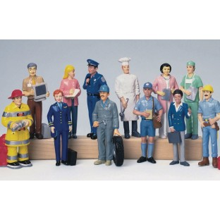 Career Figures (Set of 12) - Image 1 of 1