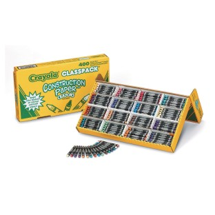 Crayola® Construction Paper Crayon Classpack® (Box of 400) - Image 1 of 1