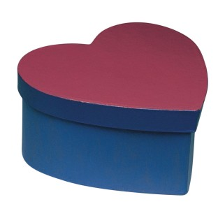 Paper Mache Heart Box - Image 1 of 1