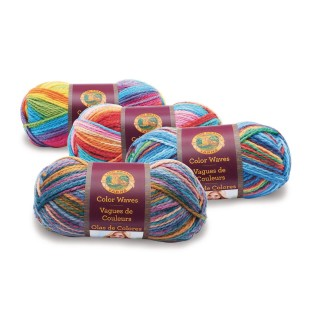 Lion® Color Waves Variegated Yarn - Image 1 of 1
