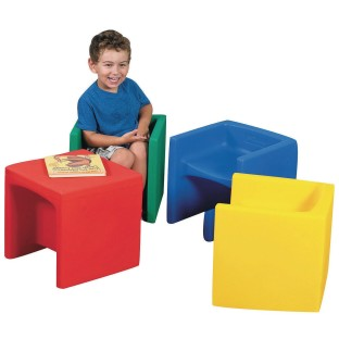 Children's Factory® 3-in-1 Cube Chair - Image 1 of 1