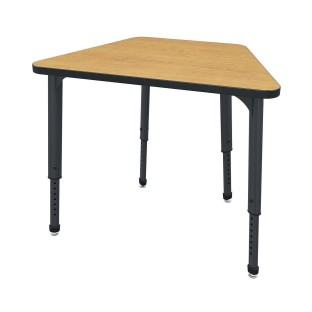 Marco™ Apex™ Adjustable Height Trapezoid Desk - Image 1 of 1