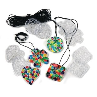 Pendant Sun Catcher Necklace (Pack of 48) - Image 1 of 2