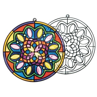 Sun Catcher Mandalas (Pack of 12) - Image 1 of 2