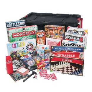 Ultimate Games Pack in Rolling Tote - Image 1 of 2