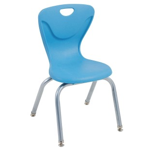 "14"" Contour Chair, Tangerine (Case of 4) - Image 1 of 1"